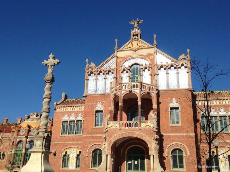 L'hopital de Sant Pau a Barcelone