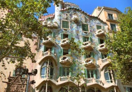 casa batllo facade principale